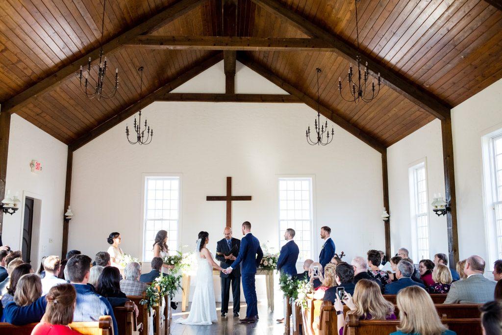 wedding ceremony in Arrington, tn