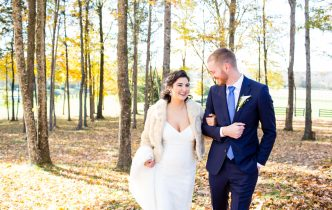 Plan a fall wedding in Arrington