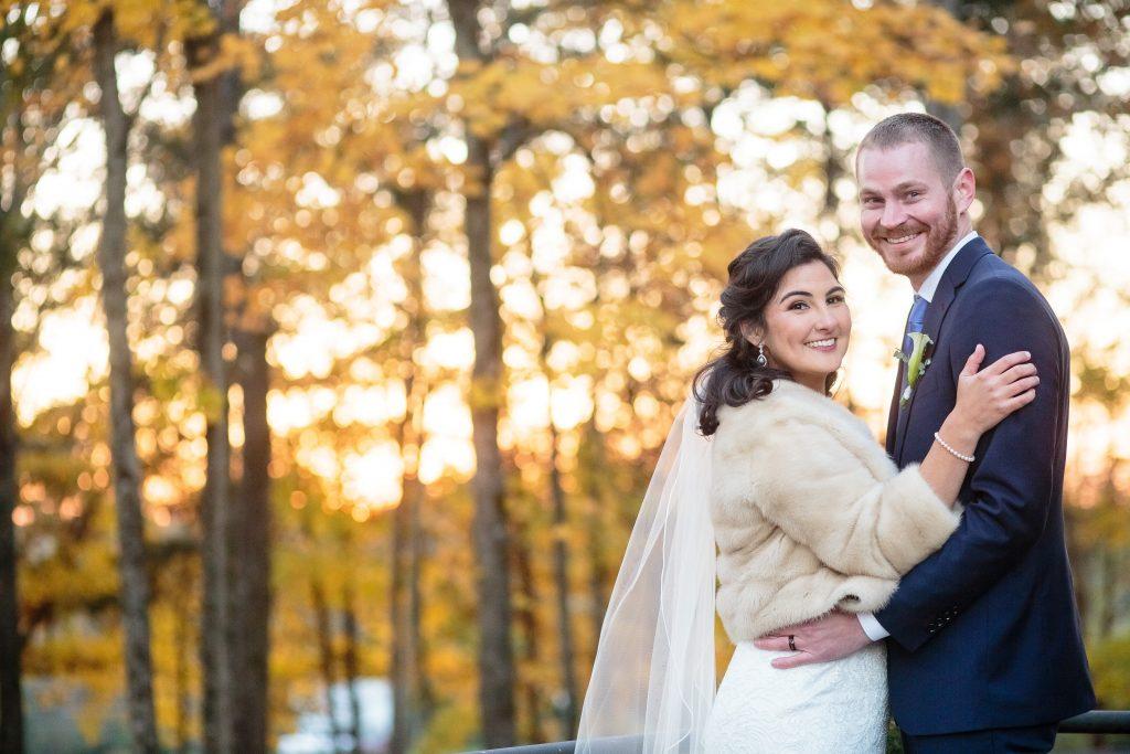 fall wedding in Arrington