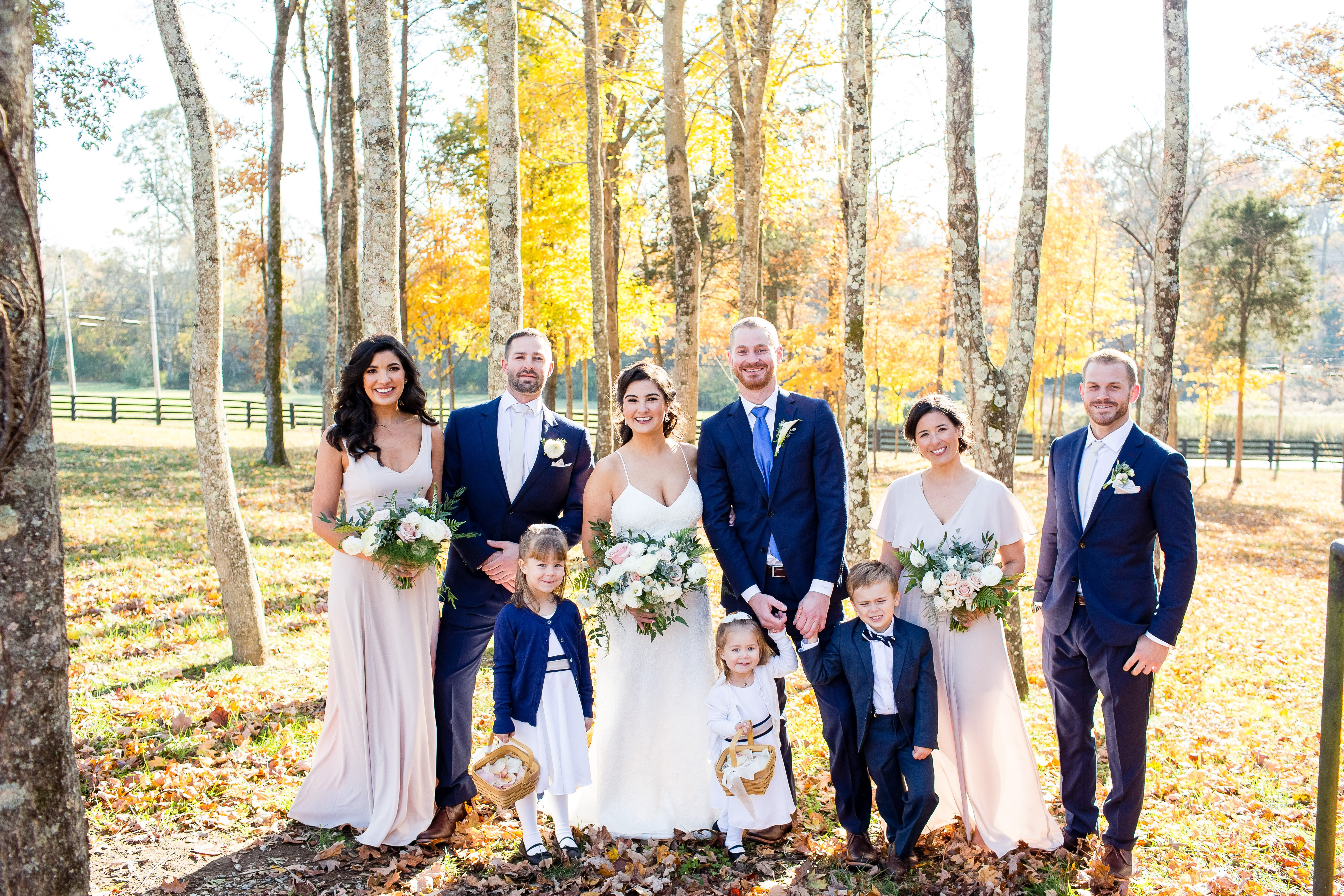 Nashville bridal party | LeeHenry Events