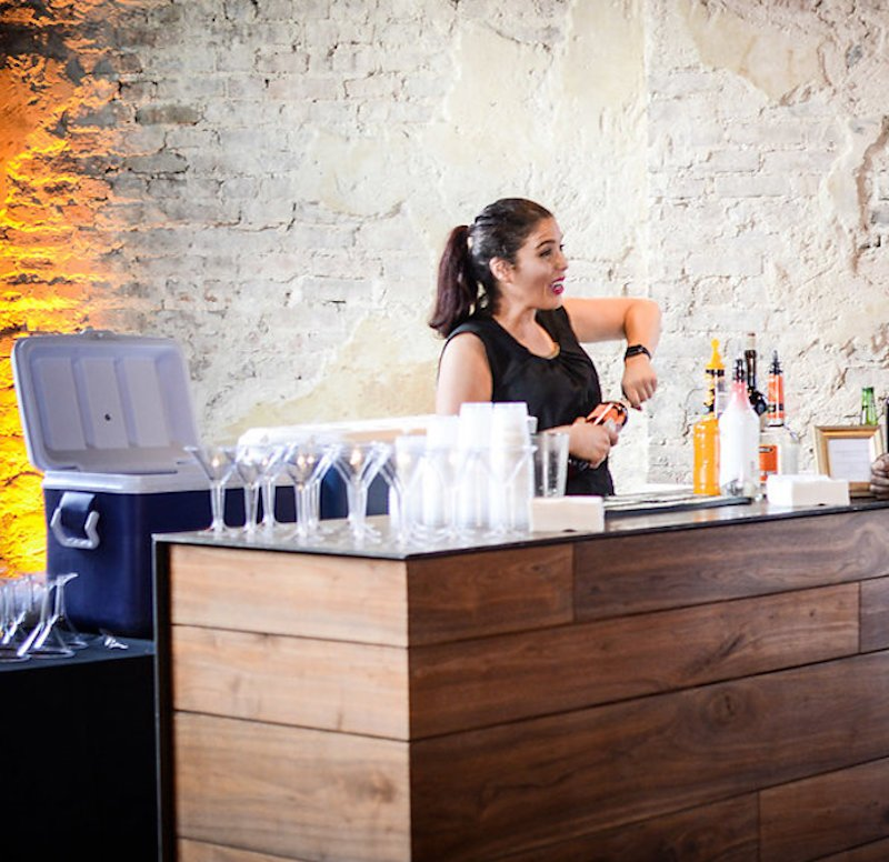What is an open bar?