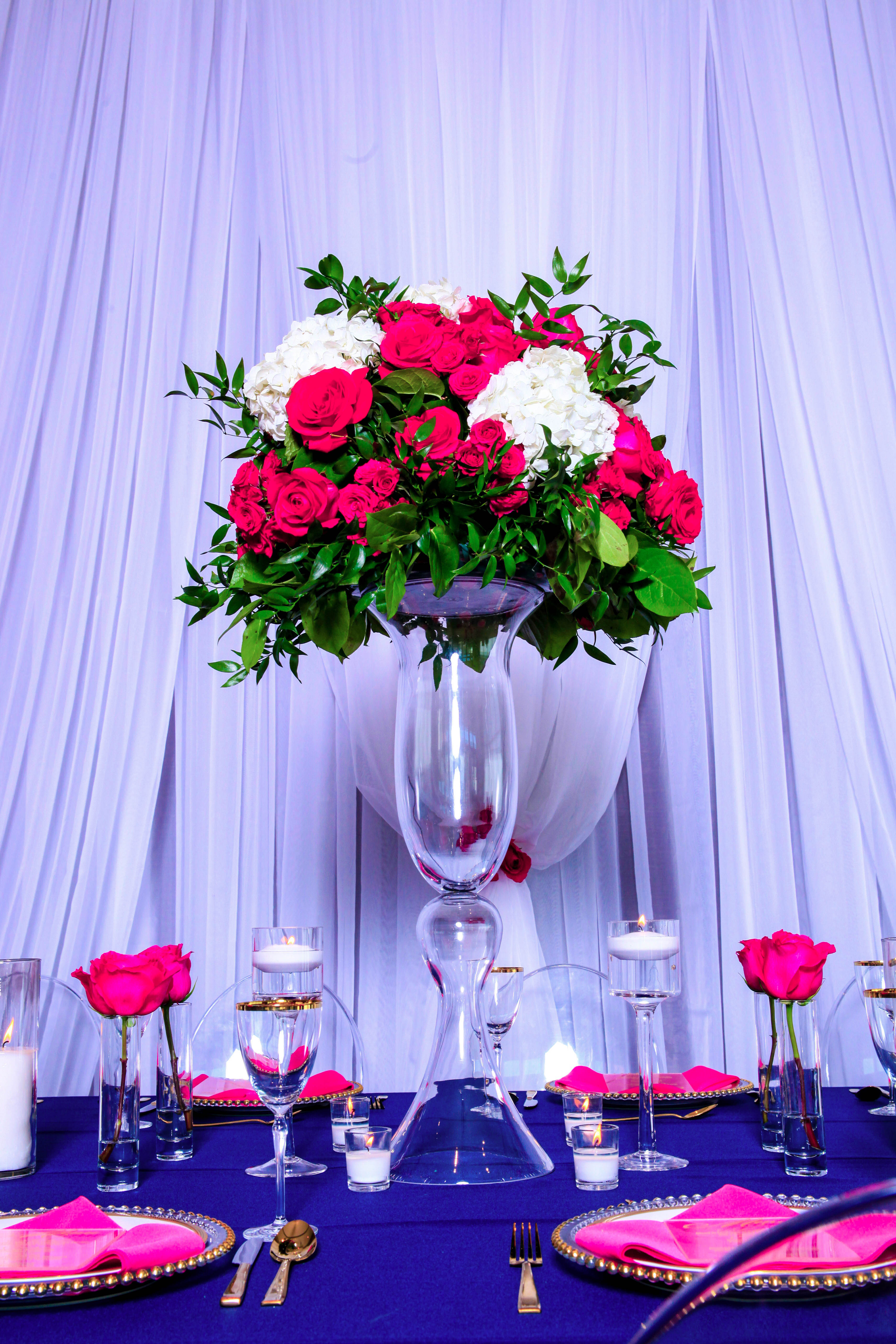 How to make a tall floral centerpiece