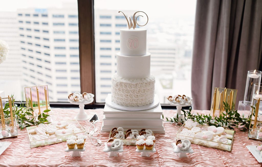Sweet spot of a wedding - the cake | LeeHenry Events
