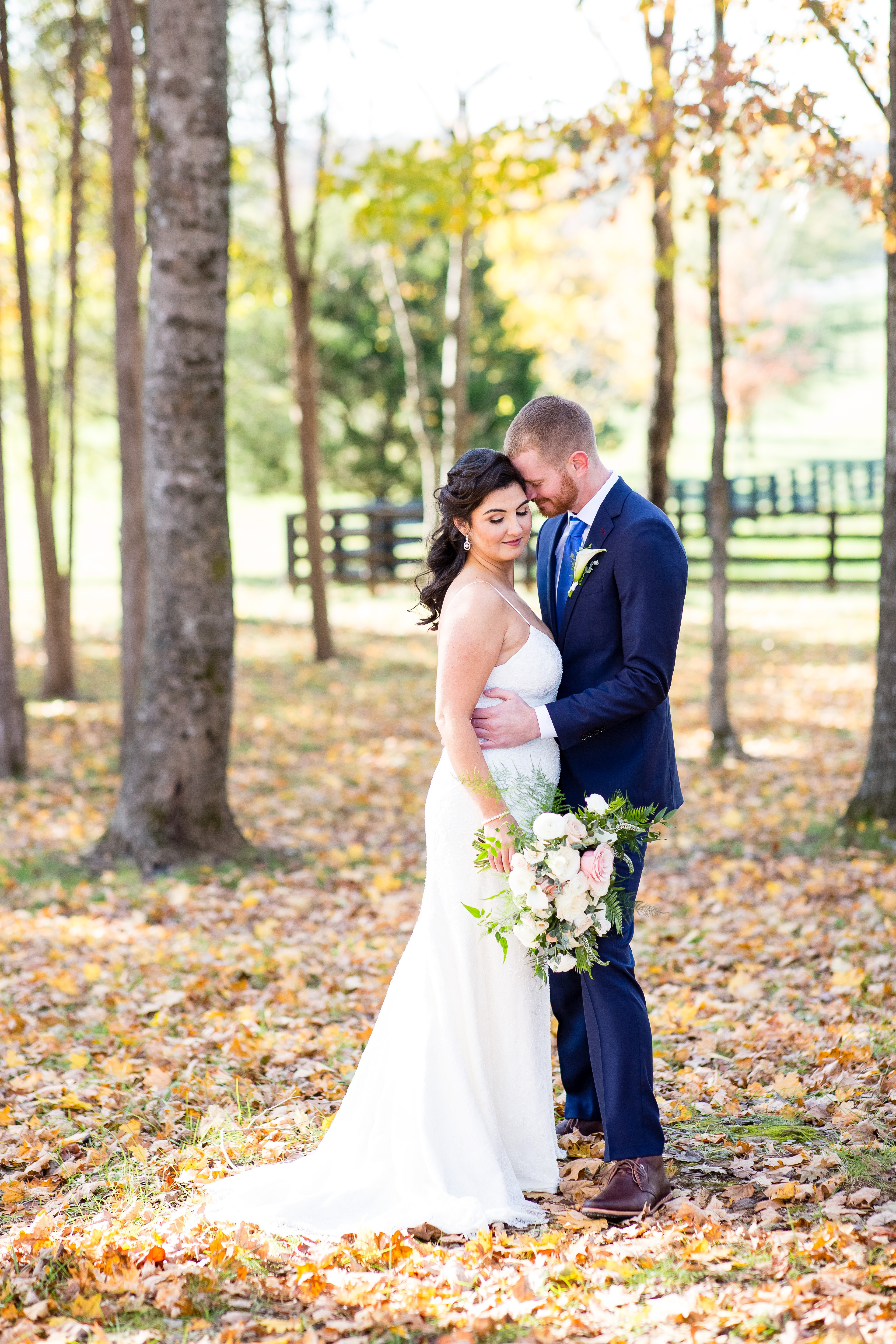 fall Arrington wedding | LeeHenry Events LLC