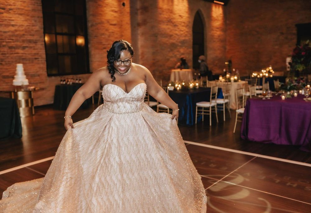 Twirling in your venue | LeeHenry Events