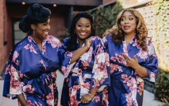 bridesmaid robe ideas | leehenryevents