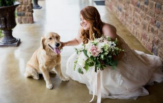 Including fur baby in your wedding