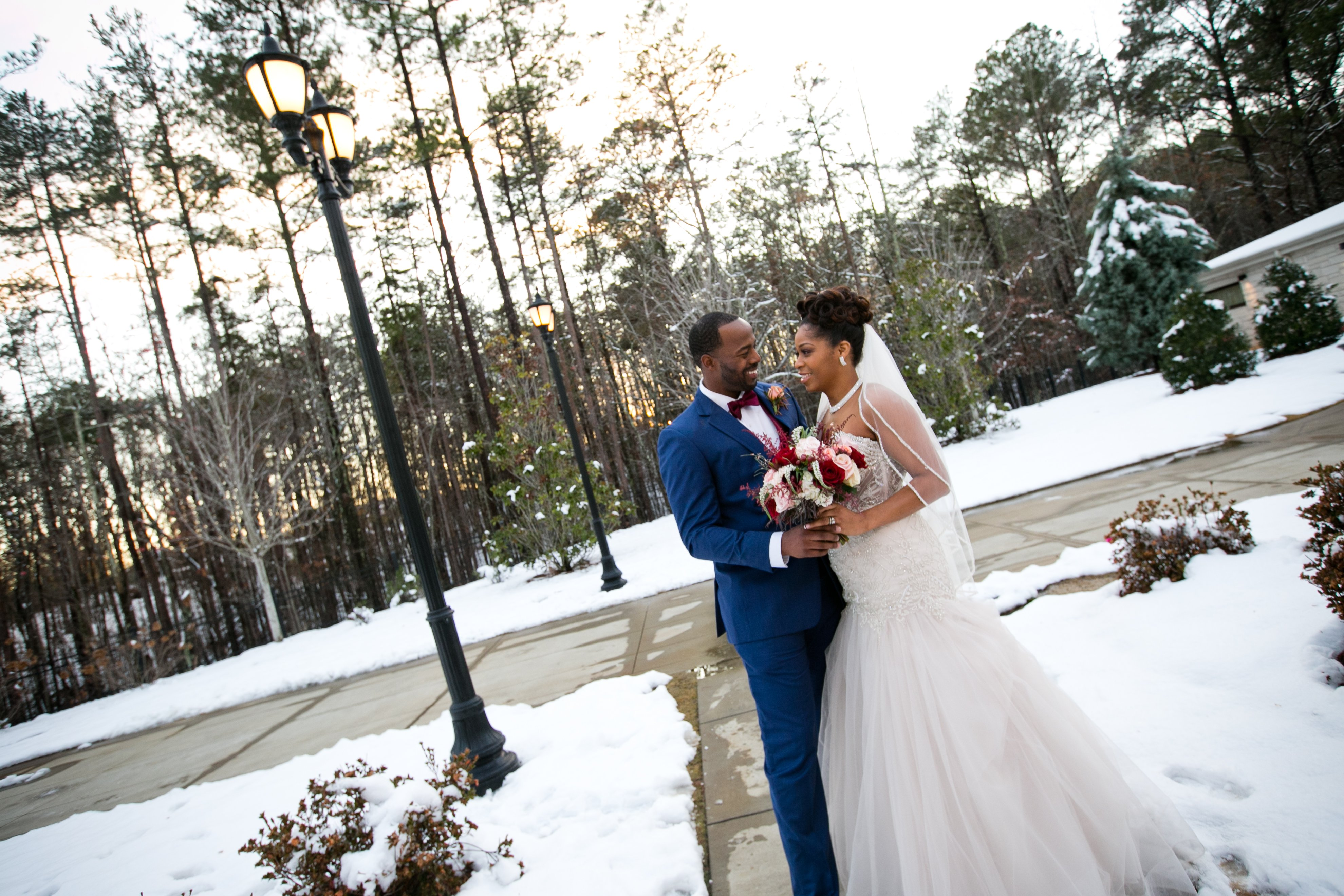 Wedding Pictures In The Snow | Wedding: Martrez and Kisha | Wedding: Martrez and Kisha | LeeHenry Events