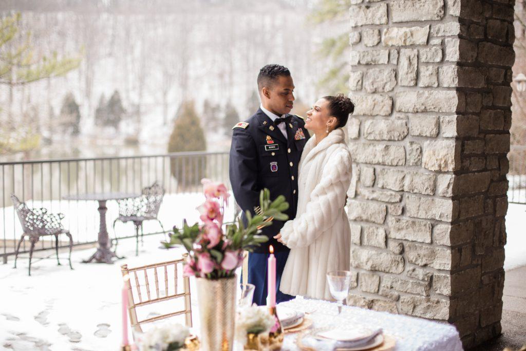 winter wonderland wedding | LeeHenry Events