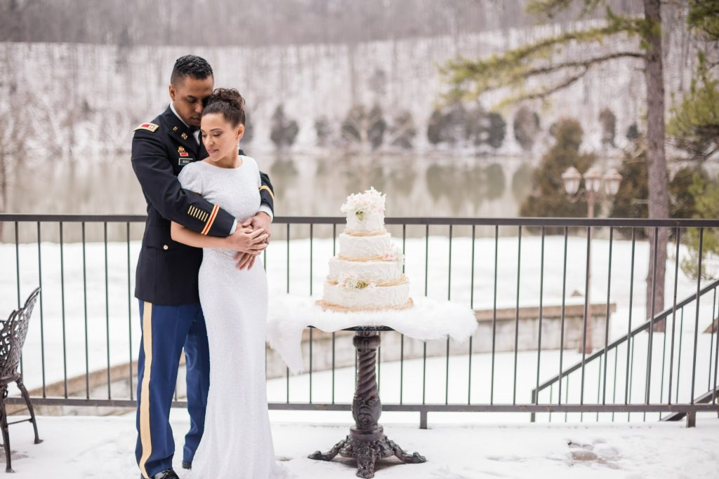 Winter snowy styled shoot | LeeHenry Events