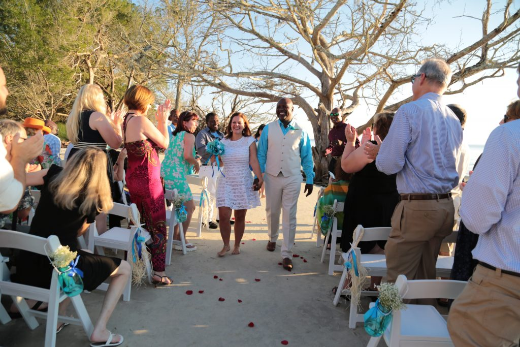 How to set up wedding ceremony on St Andrews Park