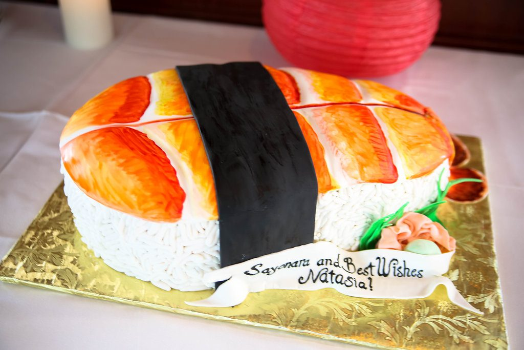 Plan a Japanese themed going away party