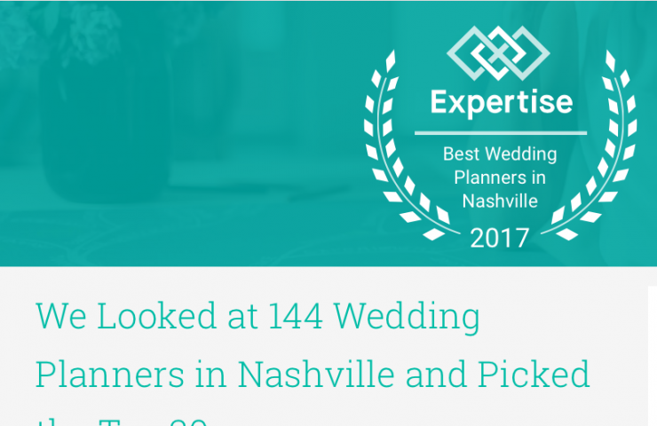 Top Nashville Wedding Planners