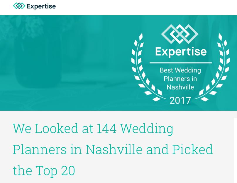Top Nashville Wedding Planners