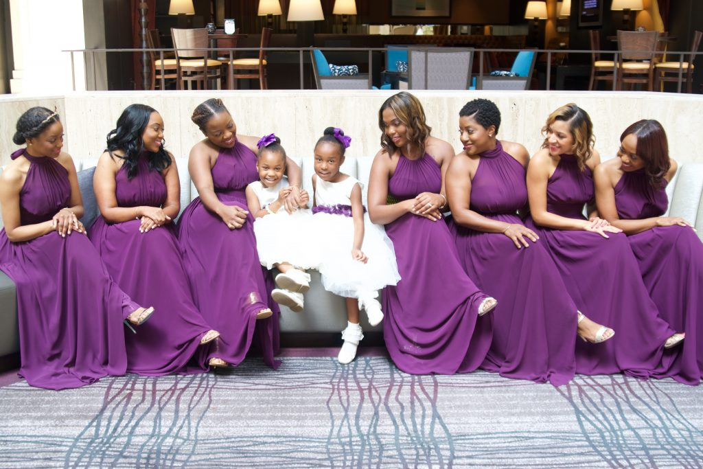 Purple Atlanta Wedding | LeeHenry Events