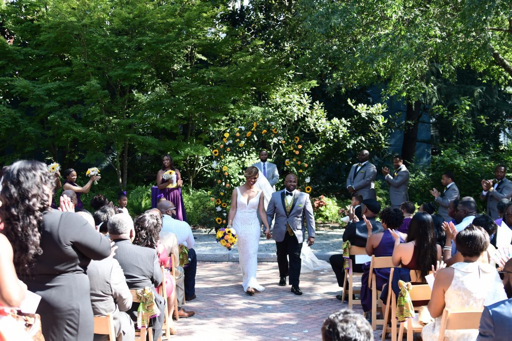 Atlanta outdoor wedding