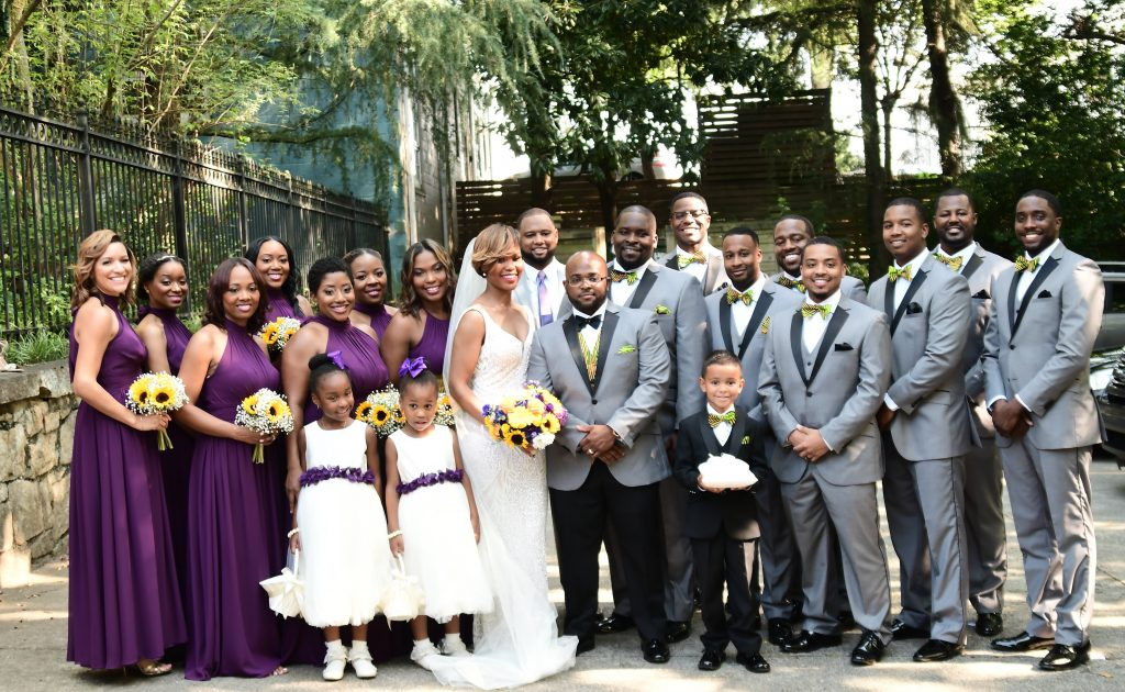Outdoor Atlanta Wedding
