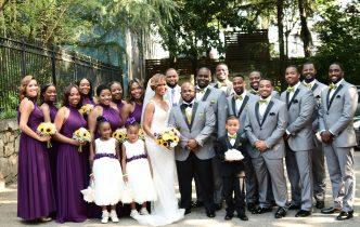 LHE Wedding: Dimitri + Kenyana