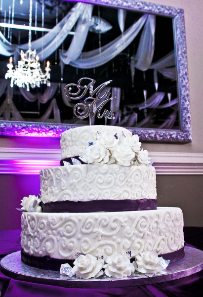 Purple Nashville Wedding