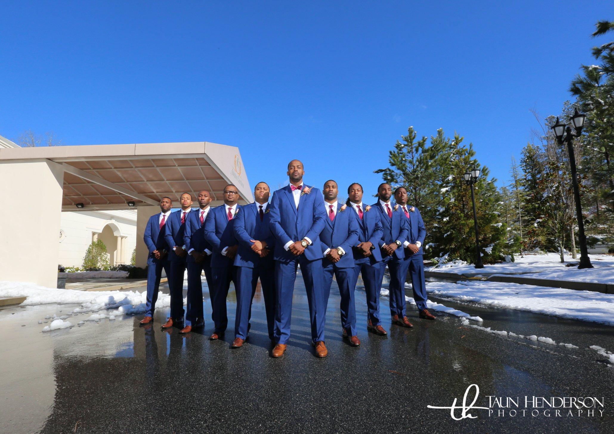 Snowy Groom's Wedding | LeeHenry Events