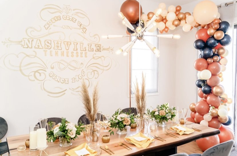 Beauty in Florals with Designs By Good Ol'C and LeeHenry Events
