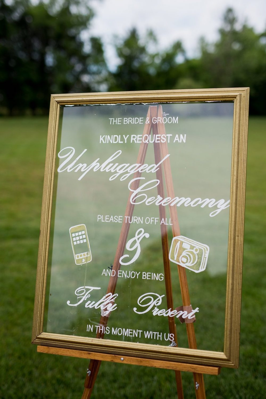 Unplugged Ceremony Trend