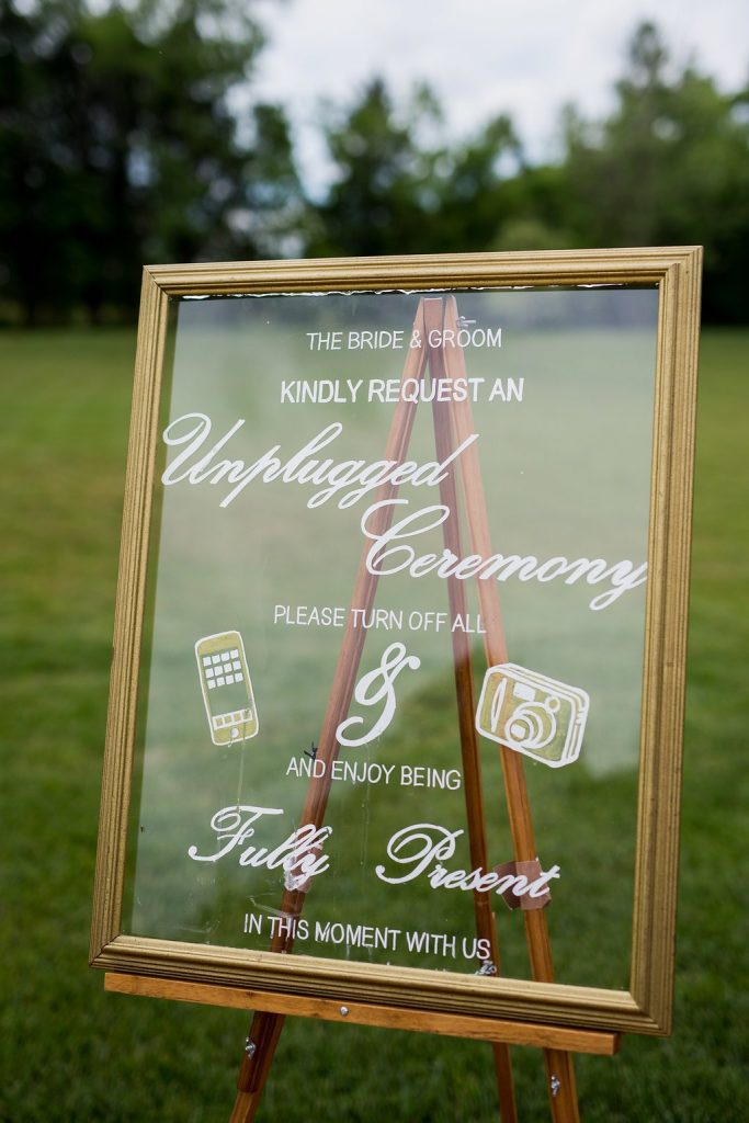 Unplugged Ceremony Trend