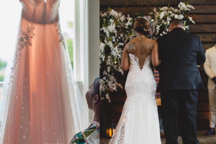 nashville custom wedding dress designer | LeeHenry Events