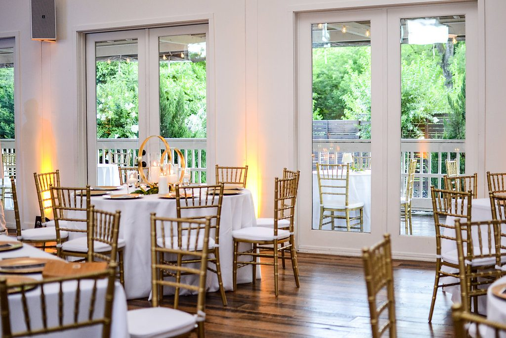 Gold and white birthday party   LeeHenry Events