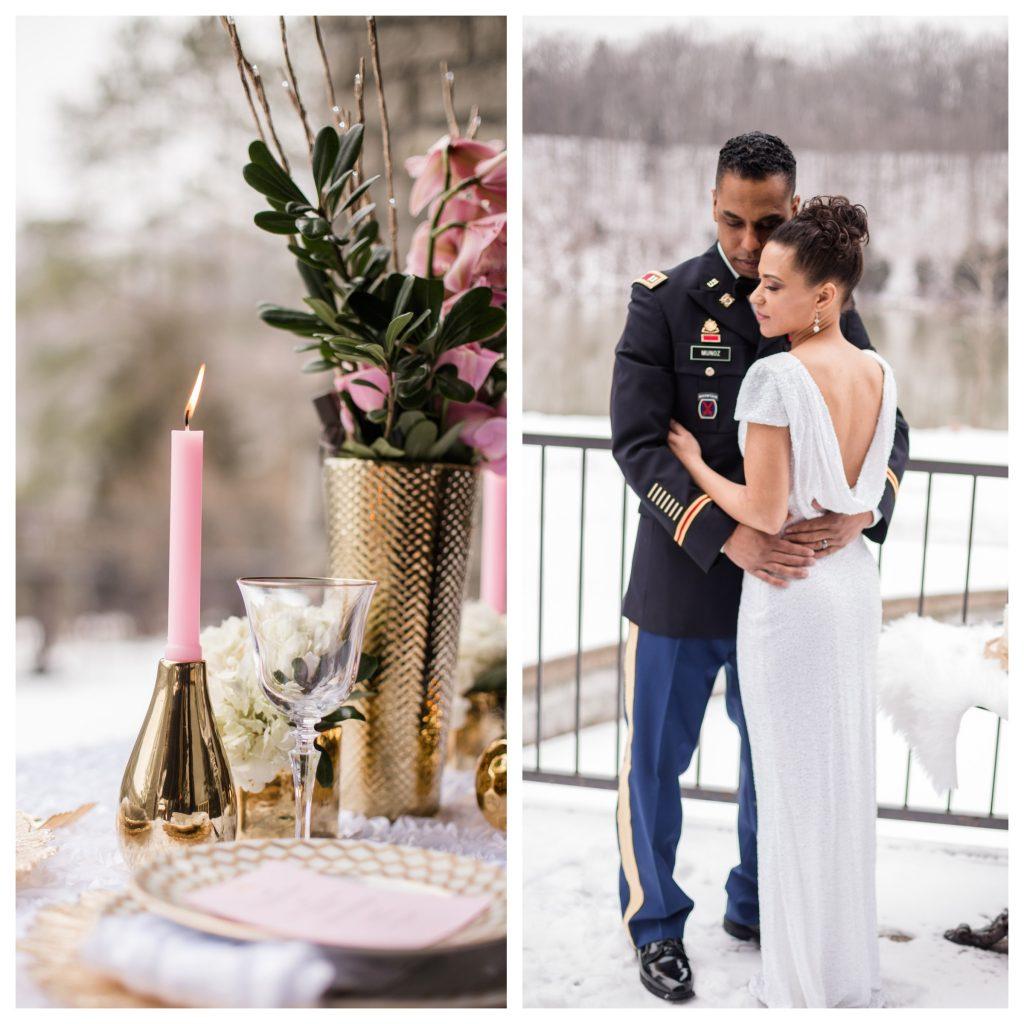 Winter Wedding Styled Shoot | LeeHenry Events