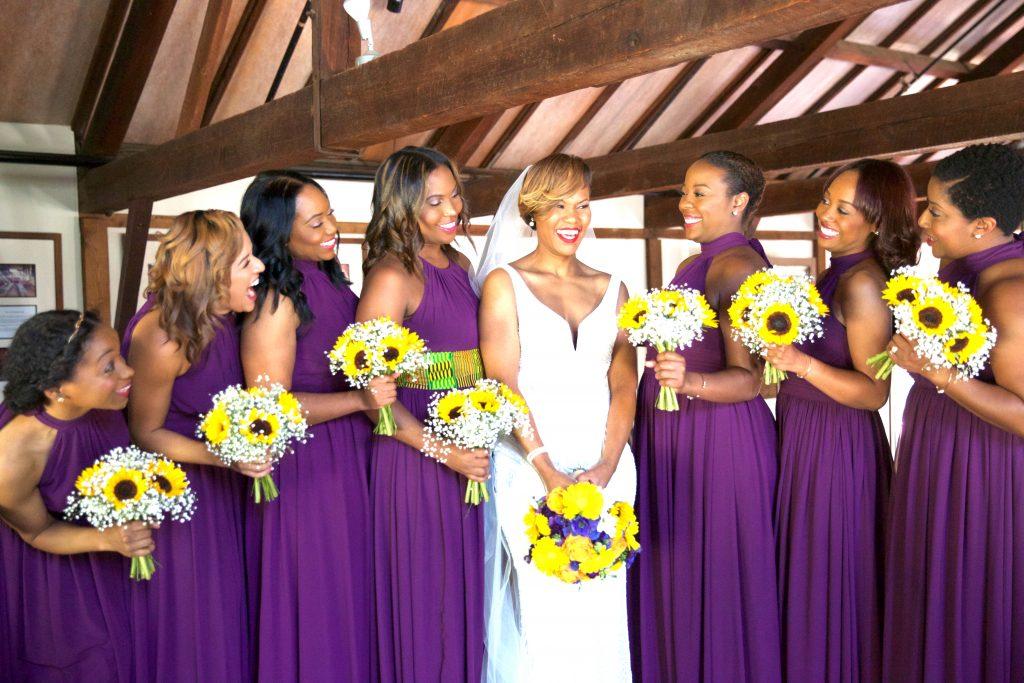 Bridesmaids bouquet | LeeHenry Events