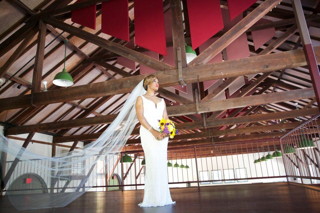 Atlanta Wedding at Trolley Barn