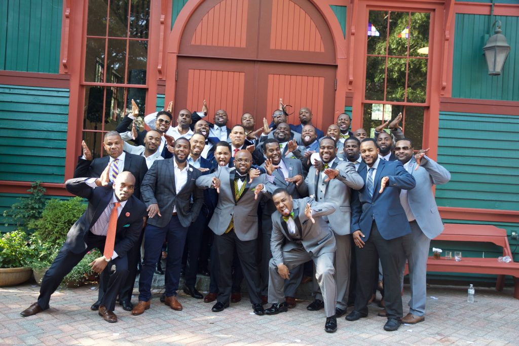 Omegas at Wedding