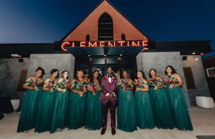 Fall jewel tone wedding at Clementine in Nashville, TN | LeeHenry Events
